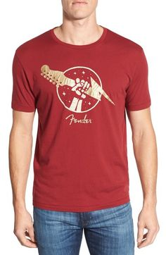 ccda5babbe71 Lucky Brand  Fender Gold of Thunder  Graphic Crewneck T-Shirt available at