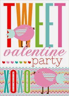 Tweet Valentine's Party Free Printables