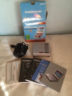 Game Boy Advance SP Classic NES Edition all content.
