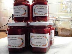 Küchentheater: Erdbeersoße