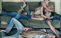 Calvin Klein Jeans SS09 by Steven Meisel