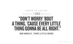 Lyrics to Live By