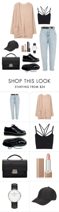 """Untitled #304"" by bajka2468 on Polyvore featuring River Island, MANGO, Sweaty Betty, Yves Saint Laurent, Marc Jacobs, Chanel, Daniel Wellington and August Hat"