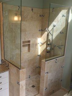 Doorless Showers For Small Bathrooms