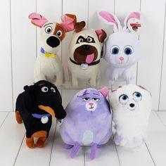 The Secret Life of Pets Plush Doll Toys Chloe Snowball Gidget Buddy Gift Xmas #Unbranded