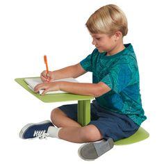 ad: The Surf Portable Lap Desk/Laptop Stand/Writing Table, Blue Laptop Desk For Bed, Laptop Stand, Lap Desk For Kids, Outdoor Classroom, Classroom Setup, Future Classroom, Adjustable Laptop Table, Floor Desk, Portable Desk