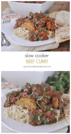 Slow Cooker Beef Curry for dinner this week is the perfect solution!