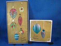 Christmas Baubles Iris Folding Pattern