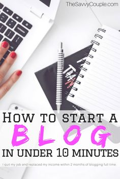 In this step by step tutorial, you will learn how to start a WordPress blog on Bluehost. Anyone can start a blog in just 10 minutes! We highly recommend using Bluehost for your blogging needs. How to blog | blogging tips | make money blogging | income reports | start a blog | blogging for money | blogging tutorial via @TheSavvyCouple