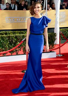 2013 SAG Awards - Giuliana Rancic in Max Azria Atelier