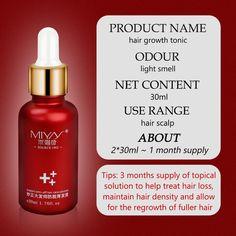 Hair Growth Essence Oil Spray Fast Hair Growth Natural Anti Hair Loss Treatment Hair Solution Hair Care Products Hair Tonic - fsjyfy03