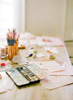 {places : at the atelier}