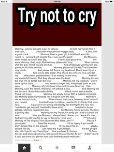 Try not to cry: Sad Stories, Sad Stuff, Repost, Sad Sweet, Rap, Chat Board, So Sad