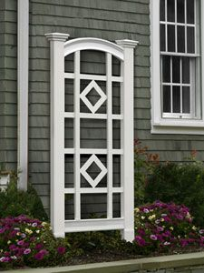 Garden trellis - REALLY need this for the rose bushes. Which are now completely out of control!