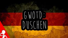 Today's #German word of the day is: duschen | When's the last time you've geduscht?  How often do you duschen in general?  #gwotd