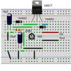 Regulador de Voltaje LM317. Aprende a crear tu propio y no volverás a tener problemas a la hora de conseguir el voltaje que necesitabas en tu circuito.