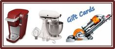 Enter to win a Keurig, KitchenAid Mixer, Dyson or one of 5 cash prizes.  Ends Jan. 6