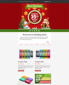 This holiday and christmas email template comes with a responsive this holiday and christmas email template features a responsive layout campaignmonitor icontact and mailchimp compatibility a flexible structure altavistaventures Images