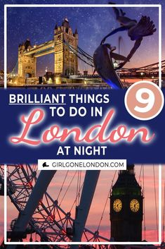London at night is one of my favorite ways to travel. See Big Ben lit up, walk over Tower Bridge to Backpacking Europe, Europe Travel Guide, Travel Guides, Europe Destinations, Bucket List Europe, London Nightlife, Budget, Things To Do In London, Ways To Travel