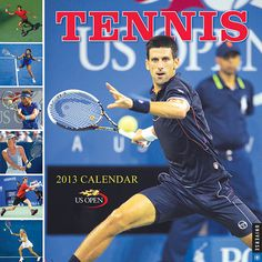 Tennis Wall Calendar: The only calendar to feature photographs of the top players in the world, the Tennis Wall 2013 Calendar is a must-have for every fan.  $13.99  http://calendars.com/Individual-Sports/Tennis-2013-Wall-Calendar/prod201300000427/?categoryId=cat00408=cat00408#