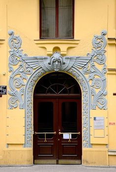 Riga, Latvia: cat house, riga, latvia - looks like a ghost hovering above! >> Explores our Deals!