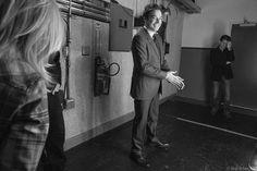 Jimmy Fallon backstage