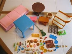 70's SUNSHINE FAMILY BARBIE ACCESSORIES