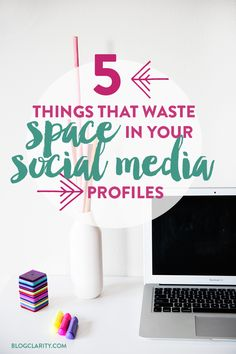 Social Media Tips: Your social media profiles make a first impression so make them count! These mistakes are spot-on (the first one is the worst!)
