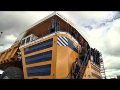 شاهد بالفيديو اكبر شاحنة فى العالم والتى تزن 810 طن