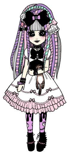 _creepy_cute_princess__by_madamebunny-d5shni4.png (418×926)
