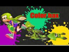 Splatoon - Color hax ( Hack #1)