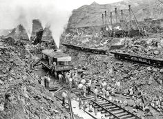 11. Panama Canal excavation, 1913