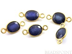 Natural Genuine No Treatment Sapphire Precious by Beadspoint, $21.99