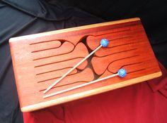 12Key Jumbo Tongue Drum Oak by WoodArtbyLee on Etsy, $249.00
