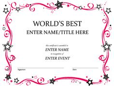 Dance award with a picture of a ballerina dance pinterest dance award with a picture of a ballerina dance pinterest dancing and certificate yadclub Image collections