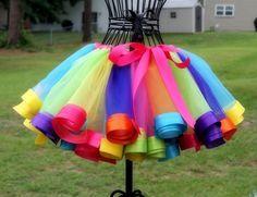 Юбка туту — новая версия / Немного усовершенствованная юбка туту, более яркая, более пышная, более чудесная.