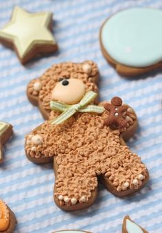 BABY SHOWER COOKIES (OR THE TEDDY BEARS PICNIC!)