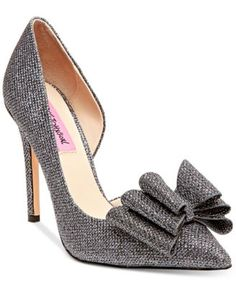 Betsey Johnson Prince d'Orsay Evening Pumps
