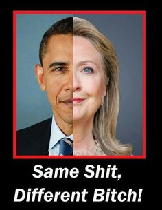 I am so very thankful she was not elected. ... Now if they'll BOTH just go away! !!