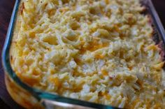 the best recipes of all time: Cracker Barrel's Hashbrowns Casserole - Copycat