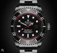 Rolex Deep Sea: Deep Red Titan Black DLC