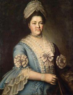 1770s Unknown artist - Portrait of a Woman