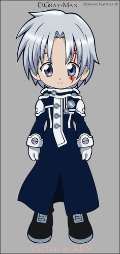 chibi, d-gray man