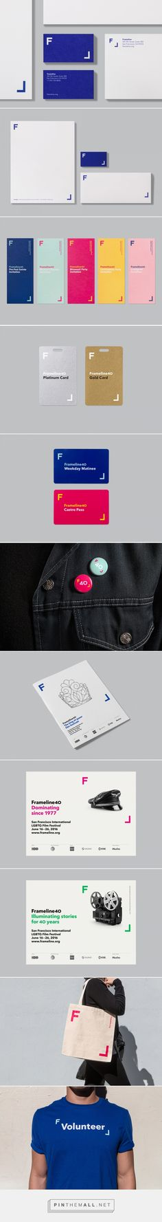 New Brand Identity for Frameline 40 by Mucho — BP&O