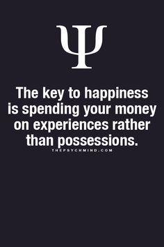 Fun Psychology facts here! Experience is the best teacher.