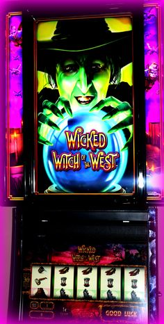 Wicked Witch of the West slot machine - NEW!