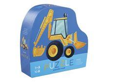 coole puzzel met voertuigen (12st) Crocodile Creek   kinderen-shop Kleine Zebra