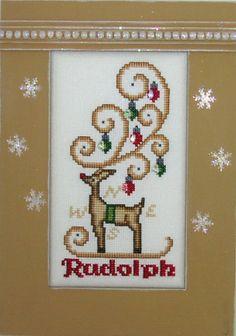 CRYSTAL:  REINDEER RUDOLPH