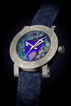 - case high steel grade 316 II  - engraved and screwed back case  - dial with real butterfly wings and fish scales - open sapphire back - double anti-reflection sapphire - ArtyA Automatic Swiss high end movement A82 in house modified - size 47 mm - power reserves: 52hr