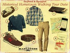 Outfitted and Equipped: Historical Hometown Walking Tour Date